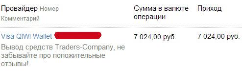 Трейдер компани отзывы